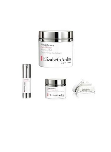 Elizabeth Arden Visible Difference Nemlendirici 75 ml+Canlandırıcı Baz 15 ml+Peeling Maske 50 ml+Göz Kremi 125 ml Renksiz